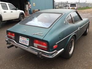 Green 240z